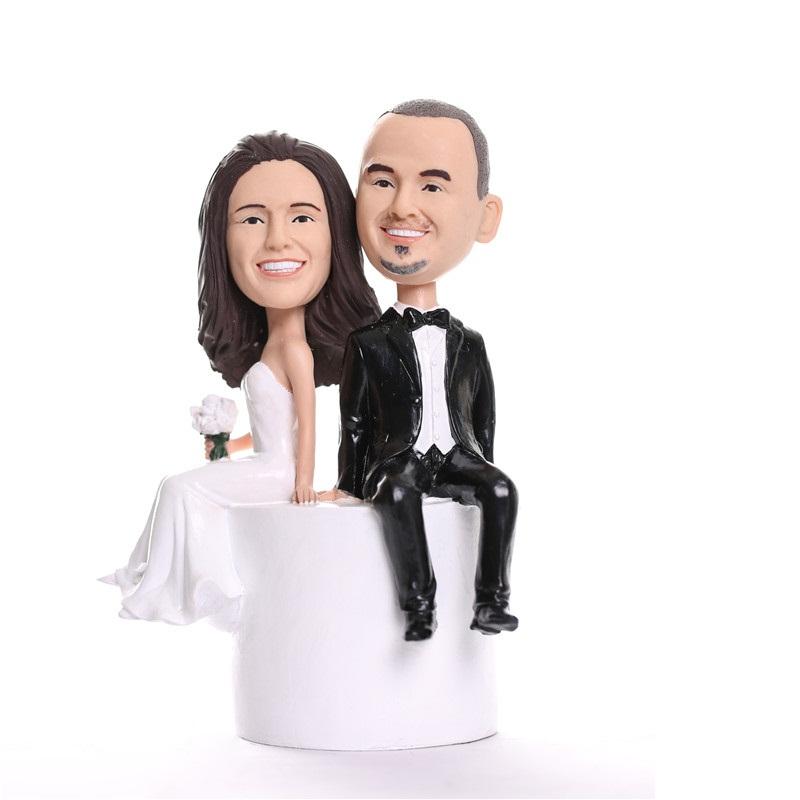 figurine de gteau de mariage personnalise wct0001 - Figurine Mariage Personnalise