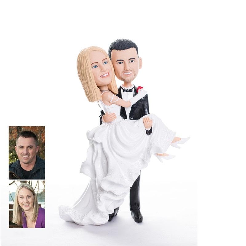 figurine de gteau de mariage personnalise wct0002 - Figurine Mariage Personnalise