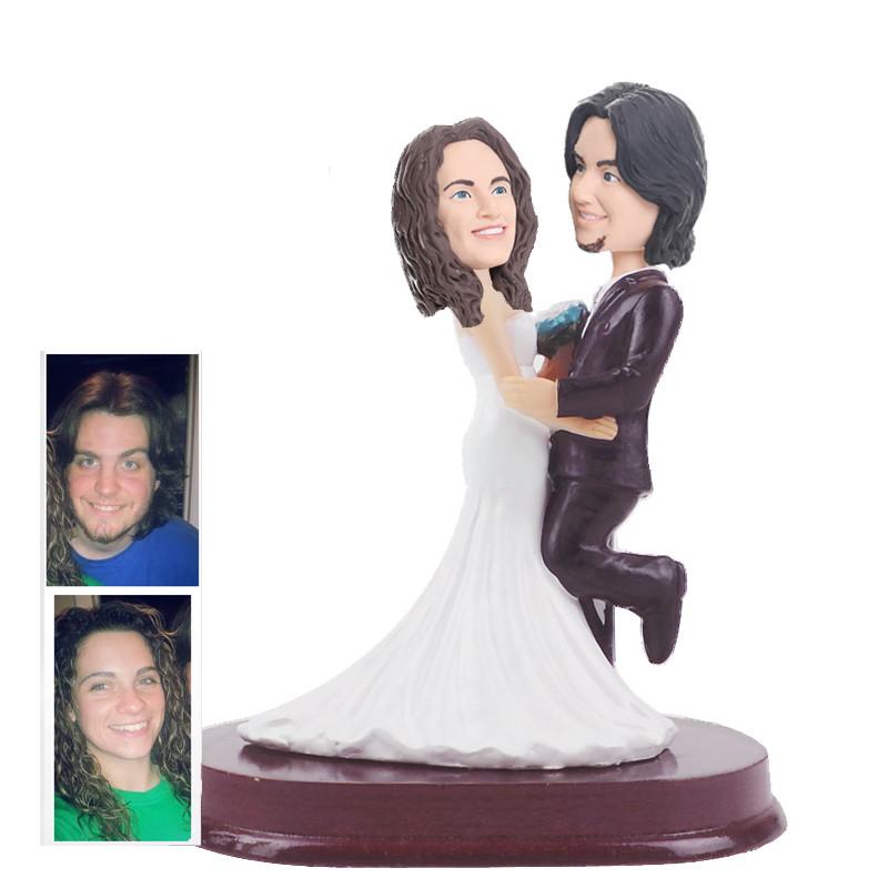 figurine de gteau de mariage personnalise wcx0008 - Figurine Mariage Personnalise