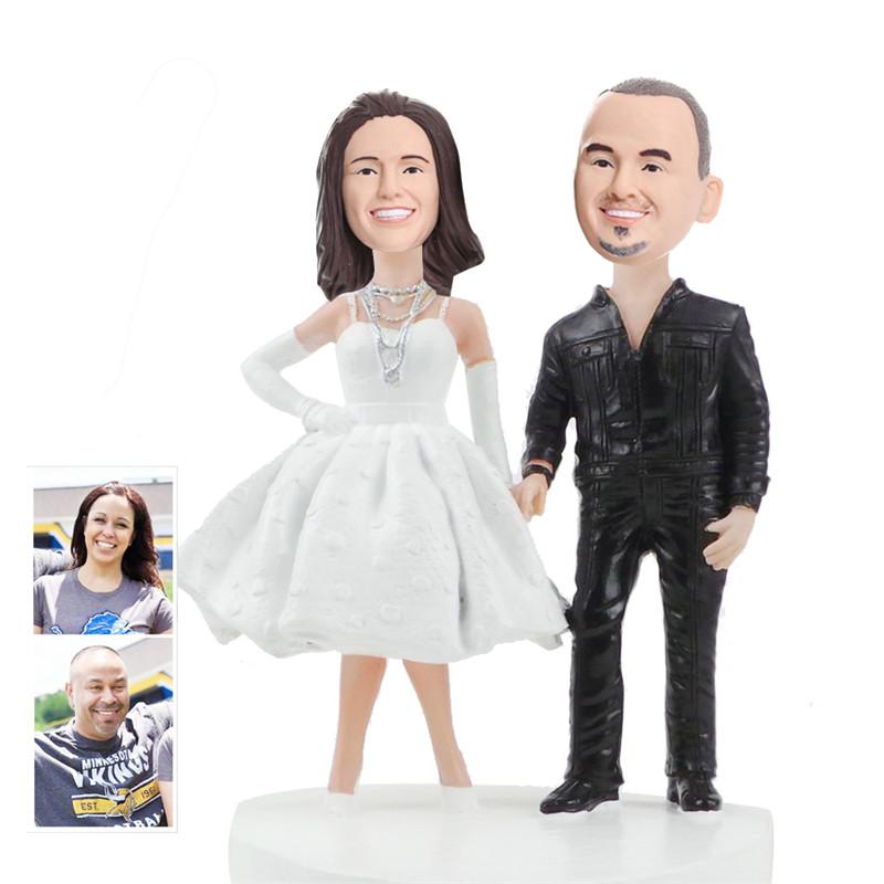 figurine de gteau de mariage personnalise wcx0010 - Figurine Mariage Personnalise